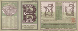 Advert for Bradbury's Sewing Machines 4709